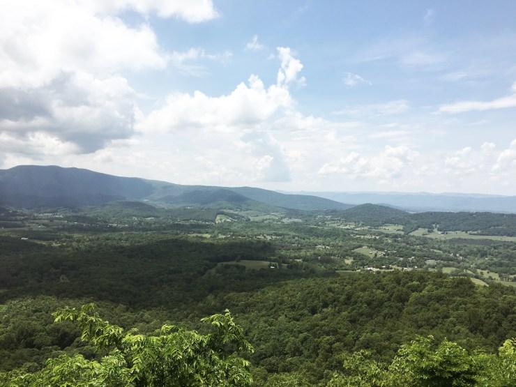 visit the Shenandoah national park