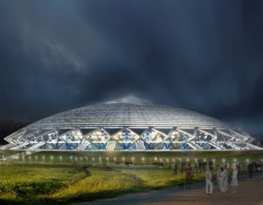 Cosmos Arena Illuminated