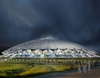 Cosmos Arena Illuminated