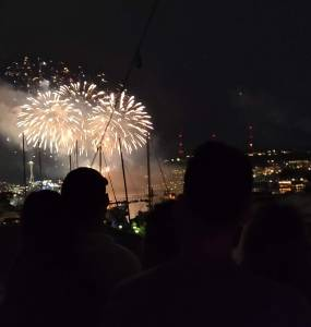 First 4 July in Seattle