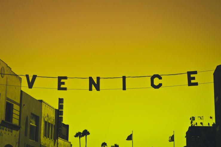 Working in Venice Beach