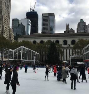 Winter activities in New York