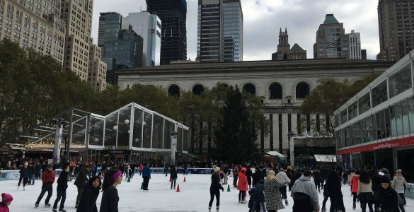 Winter activities in New York
