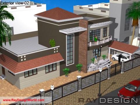 Best Residential Design in 4196 square feet - 71