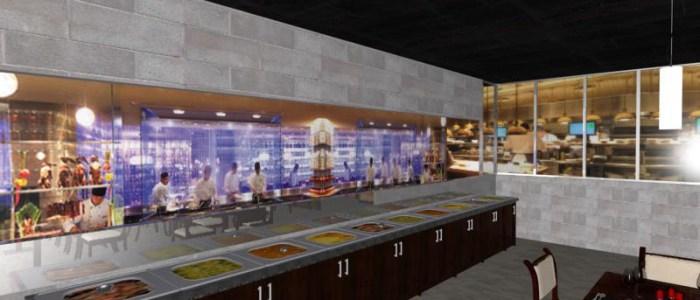 Restaurant design by raydesign team