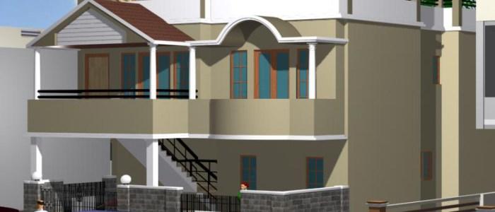 Best Residential Design in 1668 square feet - 12