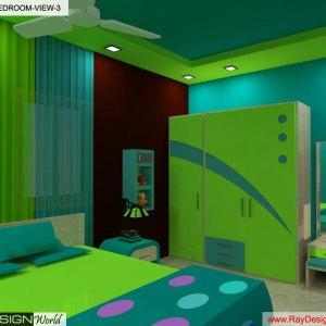 Mr.Faizan - Ahemdabad Gujarat - Children bedroom Interior Design