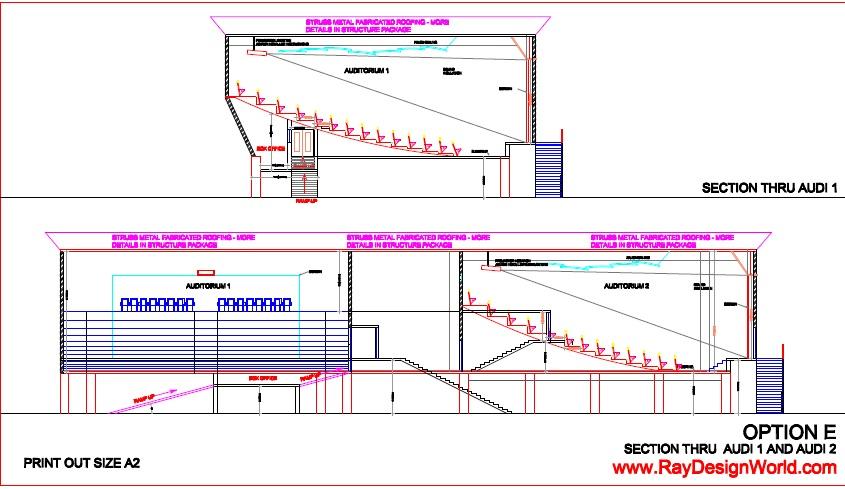 Best multiplex design in 16835 square feet 01 for Multiplex plans