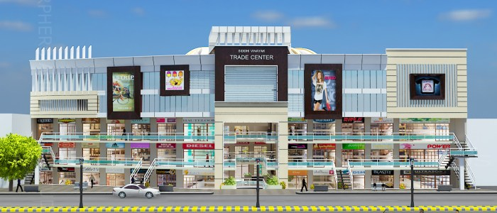 shopping complex malls designed by raydesign world