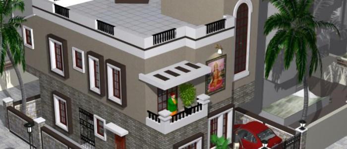 Best Residential Design in 1276 square feet - 35