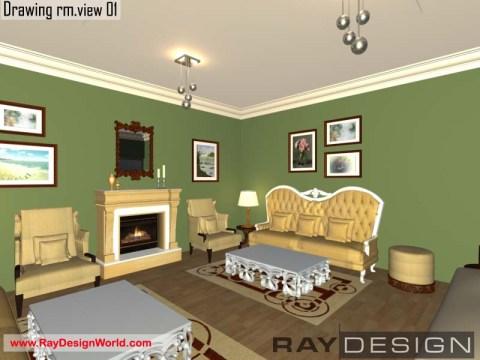 Miss Manjoo Sardana - Phagwara Panjab - Drawing Room Interior Design