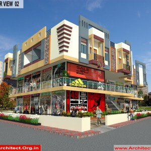 Commercial Complex - Akola Maharashtra - Mr.Dinesh Dhage