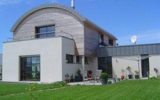 L'OLLIVIER Architecte PONT L'ABBÉ Maison LOCTUDY