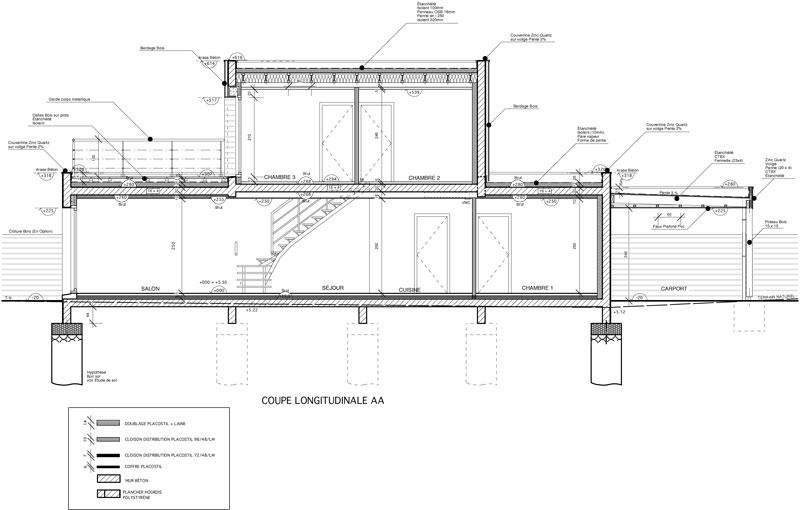 c 03 maison contemporaine cubique ile tudy architecte l 39 ollivier pont l 39 abb architecte l. Black Bedroom Furniture Sets. Home Design Ideas