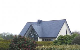 L'OLLIVIER Architecte PONT L'ABBÉ - ferme métallique