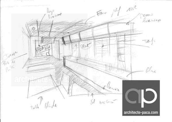 croquis-restaurant-CAMLITI-architecte