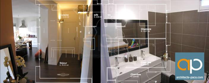 Rénovation appartement Design à Marseille