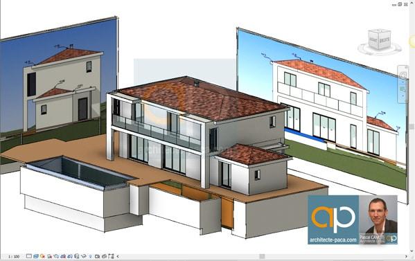 Plan architectural d 39 une maison individuelle d finition for Conception architecturale definition
