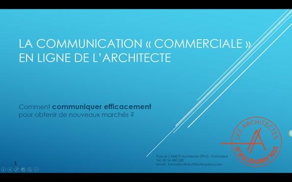 Développer votre communication en ligne d'architecte pour obtenir des contrats