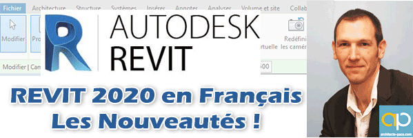 REVIT 2020 en Français : Les nouveautés