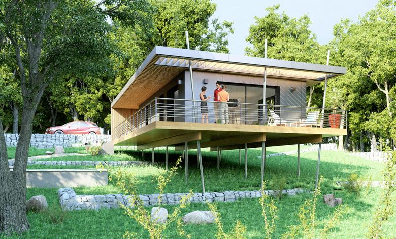construction d une maison pop up en ardeche avec un budget serre