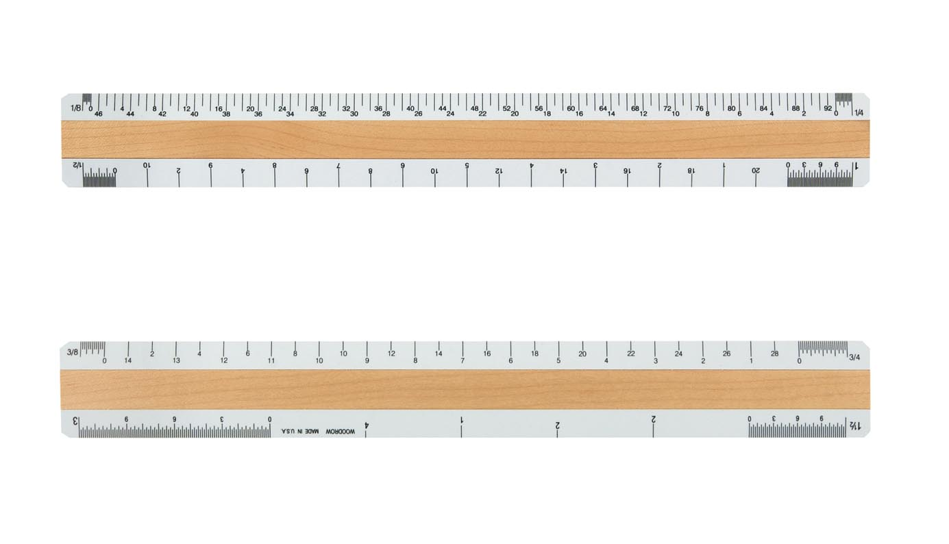 To Scale Inch Measuring Type With Picas Points Rocky