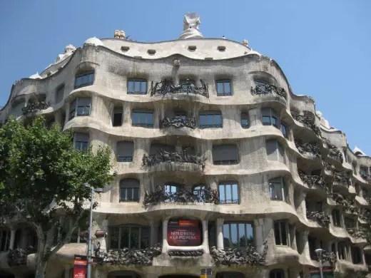 Spanish Architectural Tours - Casa Milà Barcelona
