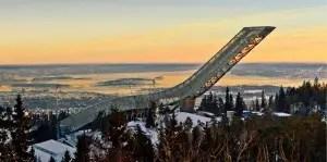 Norwegian Ski Jump Architecture
