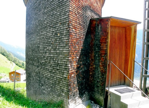 St Benedict Chapel by Zumthor in Switzerland