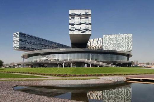 Moscow Architecture Walking Tours - School of Management Skolkovo