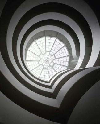 Guggenheim Museum New York City building atrium