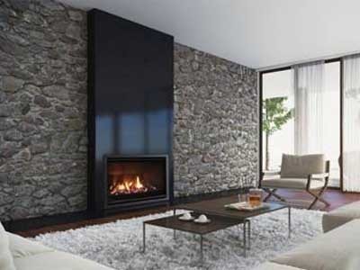 Escea S New Slimline Energy Efficient Gas Fireplace In A
