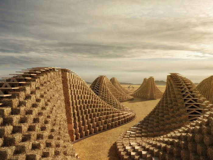 Stunning Straw Bale School Design In Malawi Architecture Amp Design