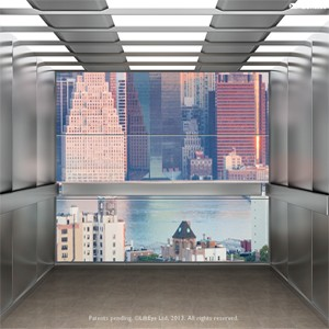 Worlds First Realistic Virtual Elevator Window System Transforms Lift Experience VIDEO