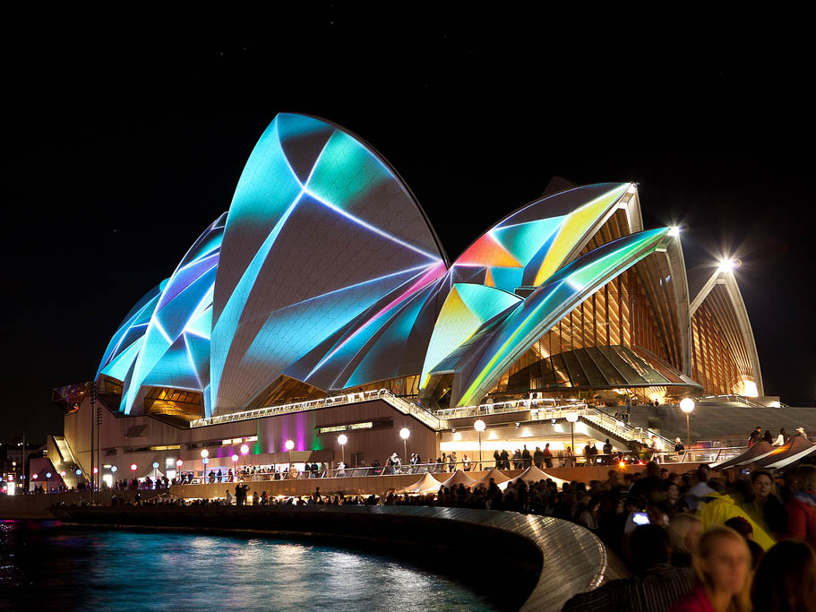 Dazzling New Installations Announced For Vivid Sydney 2019