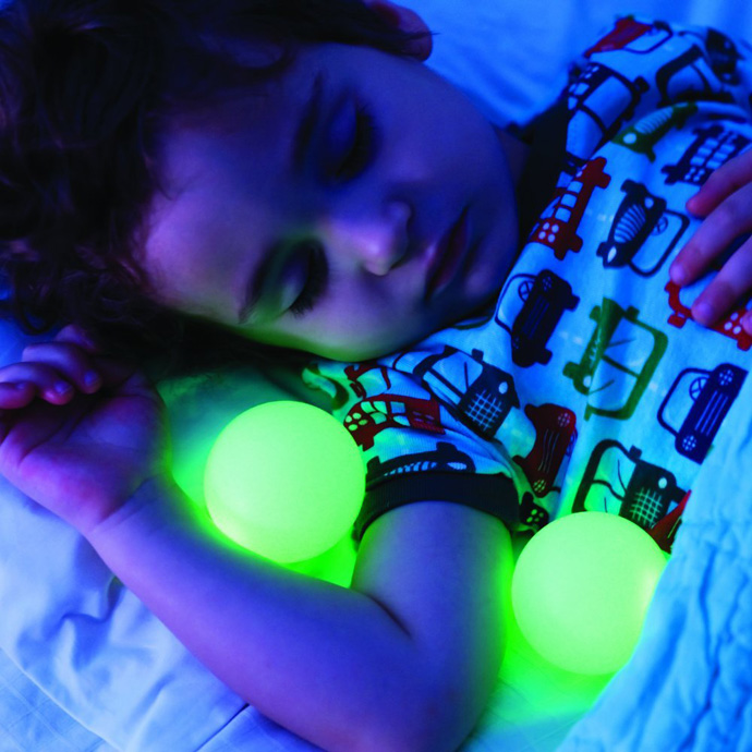 Glowing Nightlight Lamp With Removable Glow Balls