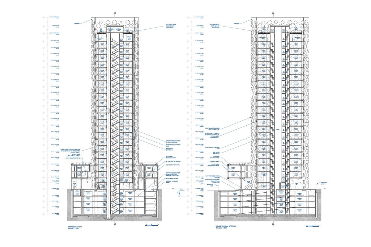 O 14 Tower By Reiser Umemoto In Dubai United Arab Emirates
