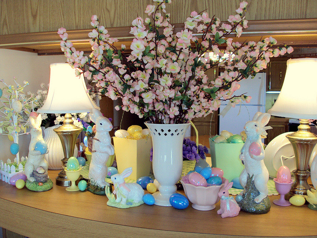 Ideas Decorating Simple Easter Table