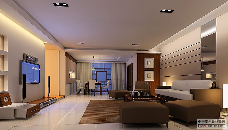 Interior design for living room
