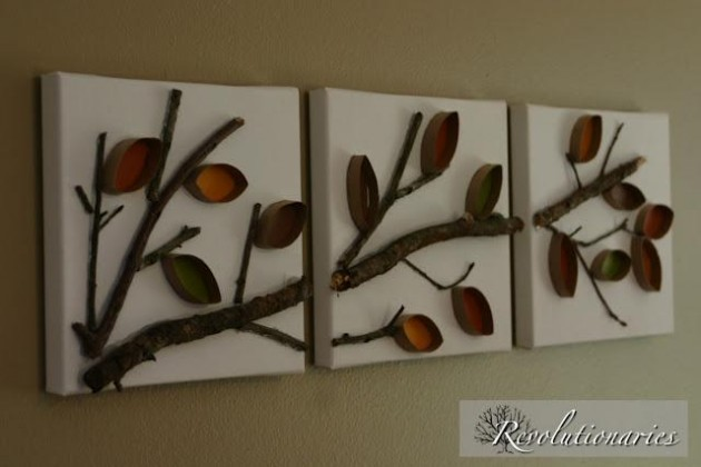 Image Of Toilet Paper Roll Wall Art Diy