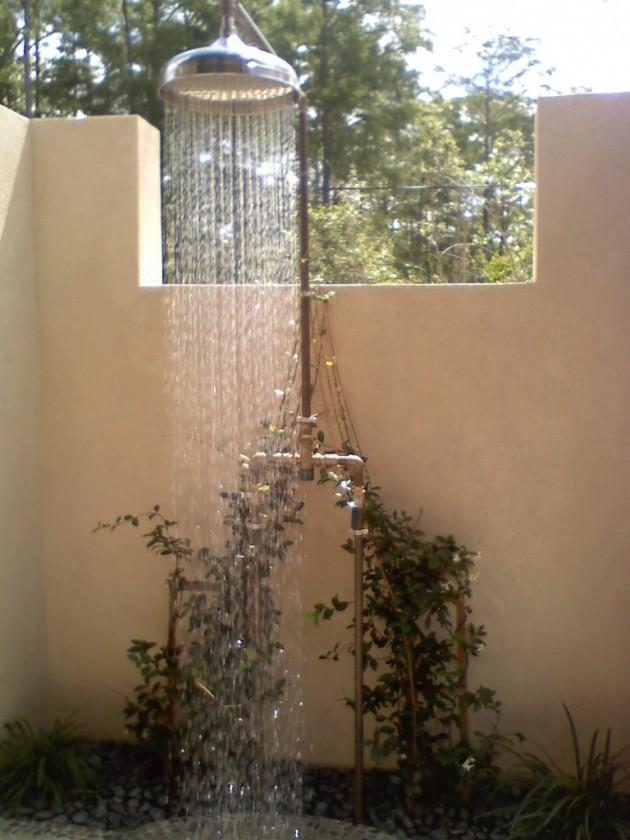 25 Fabulous Outdoor Shower Design Ideas
