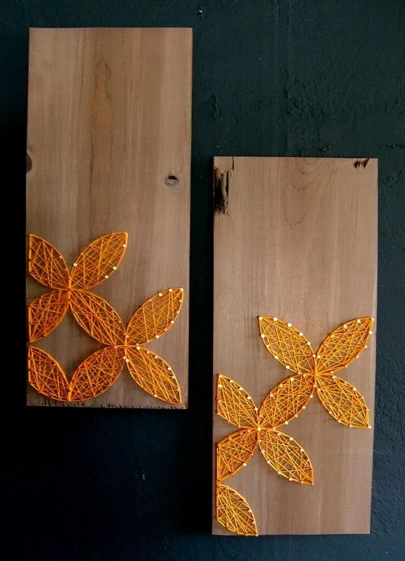 Dogwood Flower String Art By Nailedit Byjj