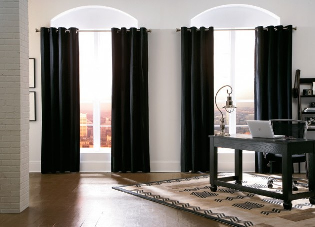 30 stylish interior designs with black