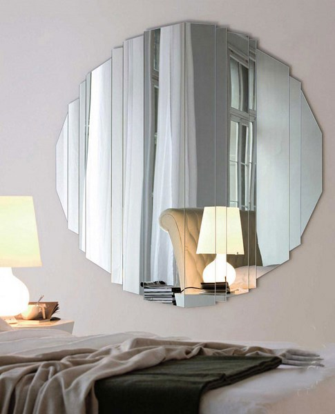 28 Unique And Stunning Wall Mirror Designs For Living Room