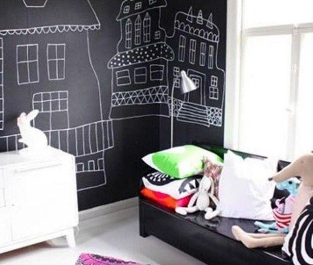 Fun Chalkboard Paint Ideas For Kids Room