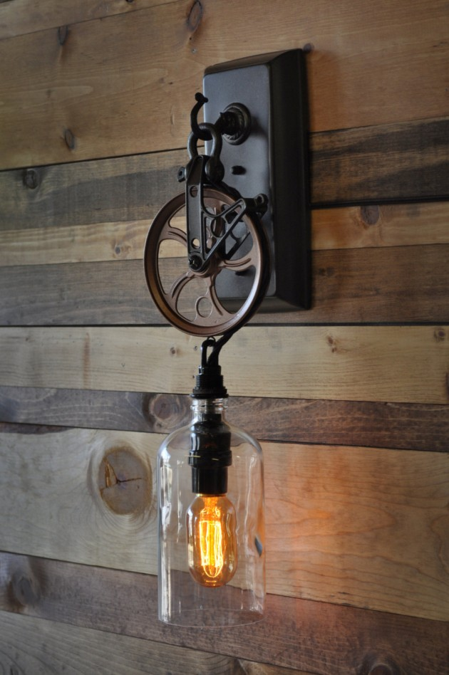 Large Light Bulb Table Lamp