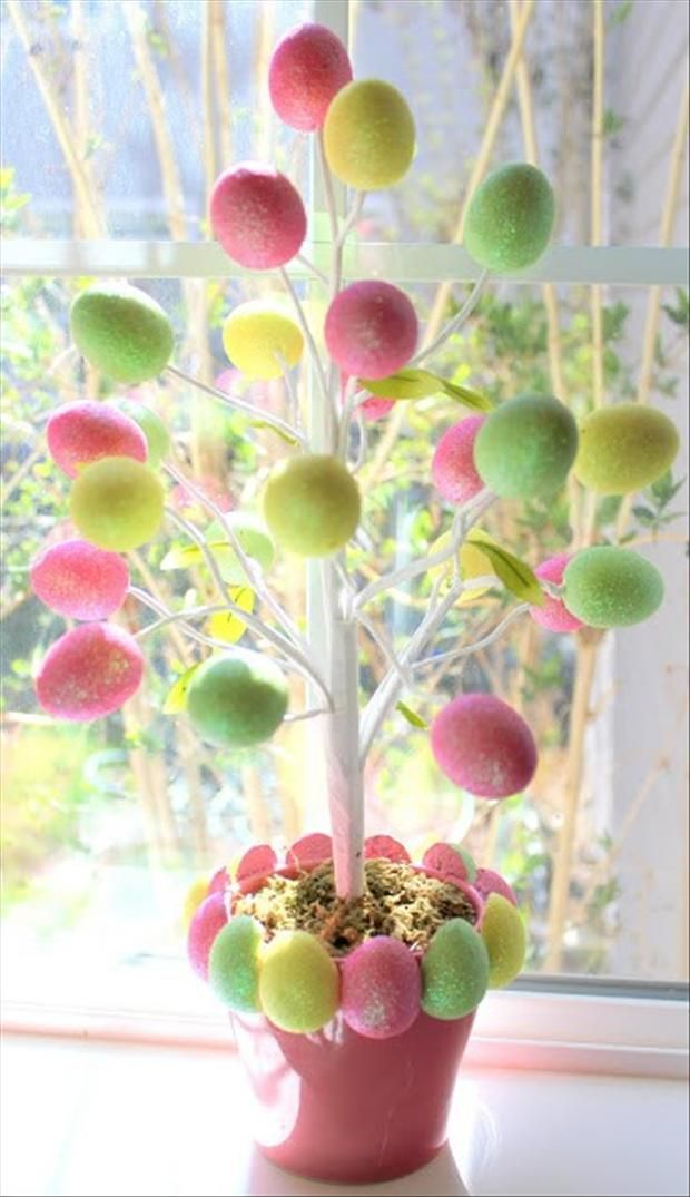 33 Impressive DIY Easter Decorations