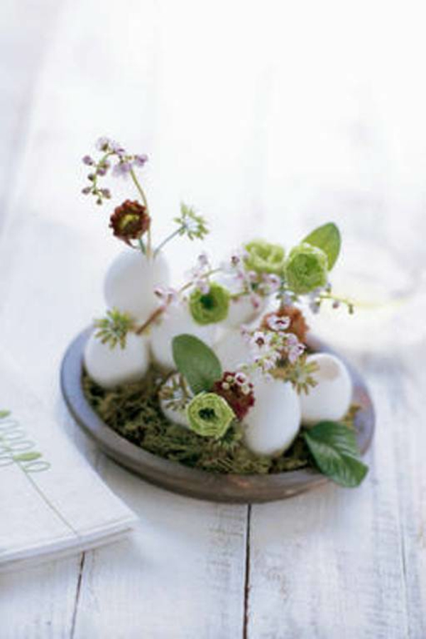 30 Vivid DIY Easter Spring Table Centerpieces