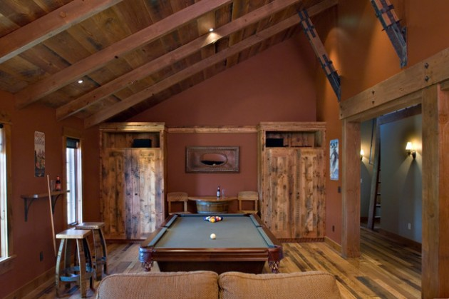 Classy And Charming 19 Game Room Designs With Pool Table