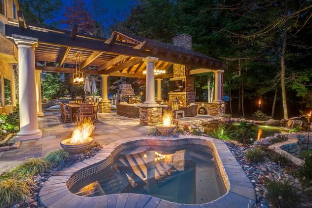 12 Warm And Cozy Rustic Outdoor Ideas
